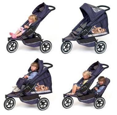 Cene otroških vozičkov lahko segajo v nebo!