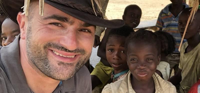 Podjetnik Uroš Mlakar je zelo povezan z Afriko