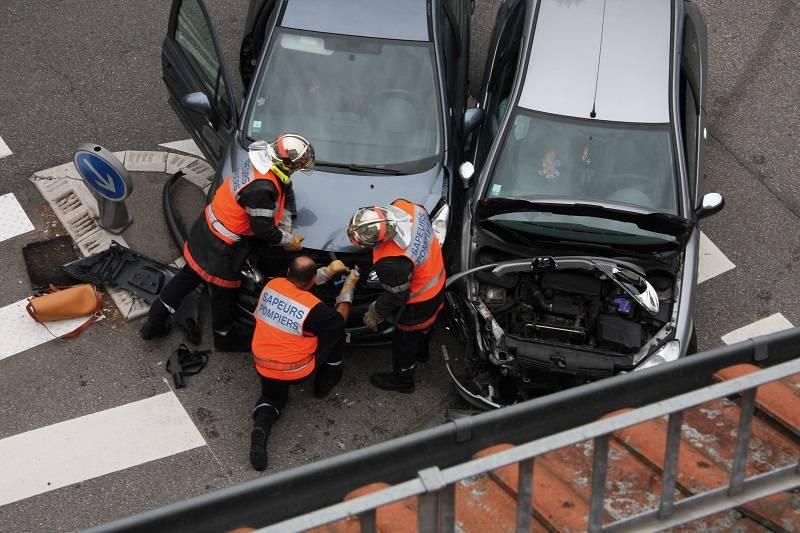 Odškodnina ob prometni nesreči