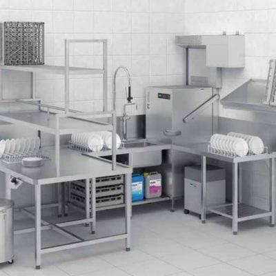 Učinkovit pomivalni stroj za zahtevno uporabo v gostilniških obratih